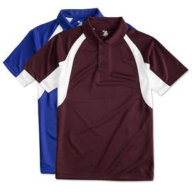 Badger B-Dry Contrast Performance Polo