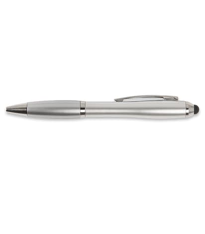 Nash Stylus Pen (black ink) - Silver