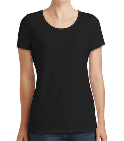 New Era Women's Tri-Blend Performance Shirt - Black