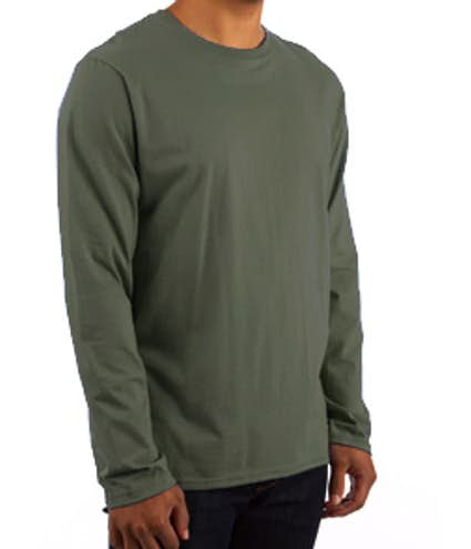 27424227656 Custom Canada - Gildan Softstyle Long Sleeve Jersey T-shirt - Design ...