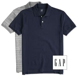 GAP Cotton Pique Polo with Stretch