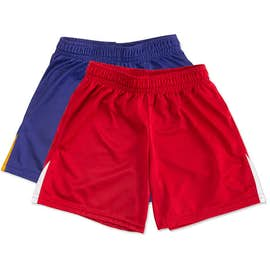 High Five Youth Contrast Performance Soccer Shorts