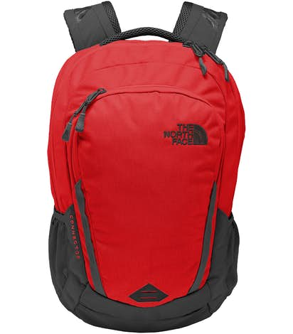 The North Face Connector Backpack - Rage Red / Asphalt Grey