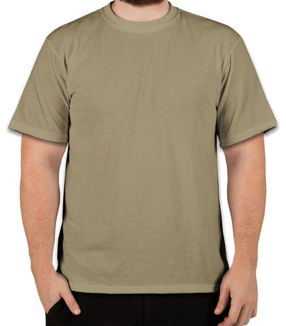 34fb20419 Custom Soffe Military Performance Blend T-shirt - Design Performance ...