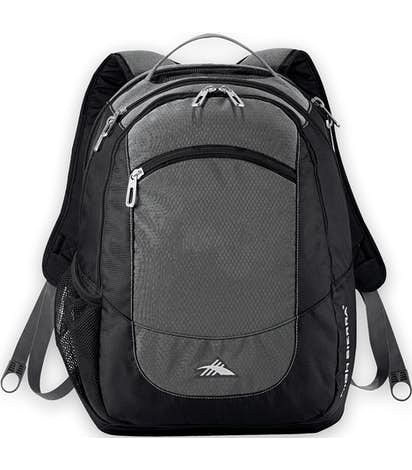 "High Sierra® Fly-By 17"" Computer Backpack - Grey"