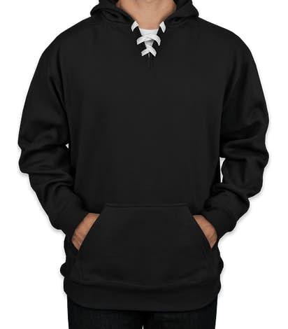 J. America Hockey Pullover Hoodie - Black