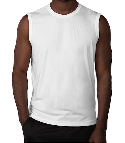 Sport-Tek Competitor Performance Muscle Tank - White
