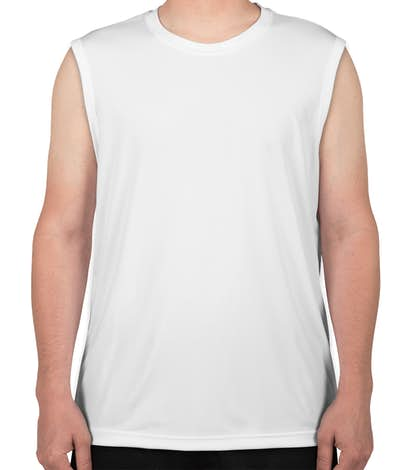 Canada - ATC Competitor Performance Muscle Tank - White