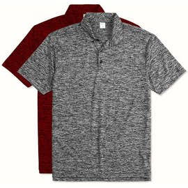 Sport-Tek Electric Heather Performance Polo