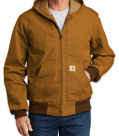 Carhartt Thermal Lined Duck Active Jacket - Carhartt Brown