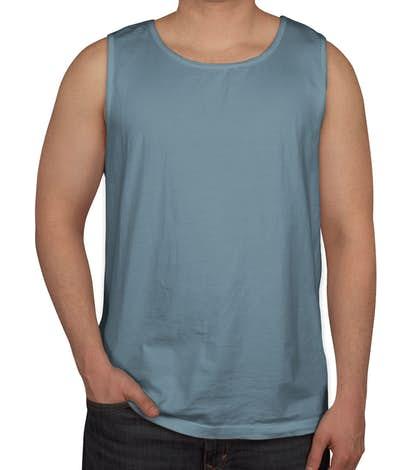 Comfort Colors 100% Cotton Tank - Ice Blue