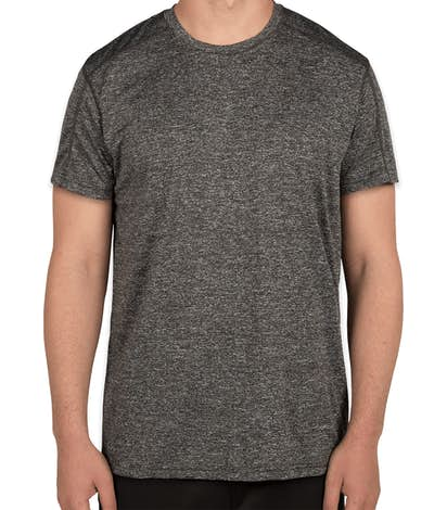 Rawlings Heather Performance Shirt - Heather Charcoal