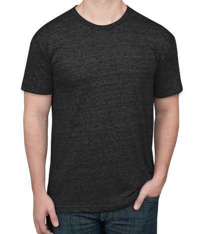 American Apparel Tri-Blend Track T-shirt - Tri-Black