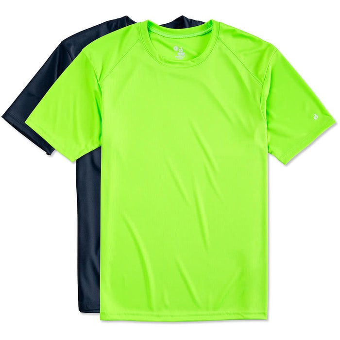 b62ec76ce8eae Custom Badger B-Dry Performance Shirt - Design Short Sleeve ...