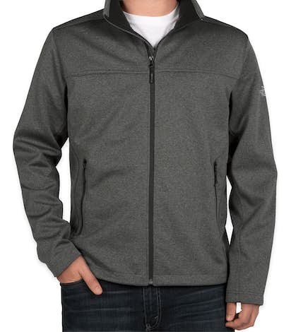 The North Face Ridgeline Soft Shell Jacket - Dark Grey Heather