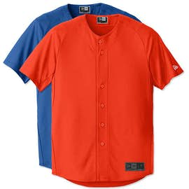 New Era Diamond Era Full Button Baseball Jersey