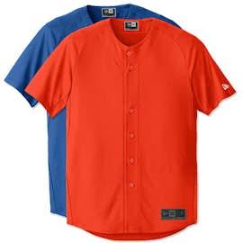 New Era Diamond Era Full Button Baseball Jersey
