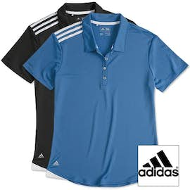 Adidas Women's Climacool 3-Stripes Shoulder Polo