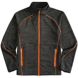 North End Melange Tech Fleece Lined Jacket