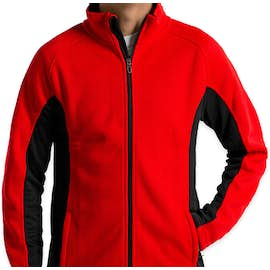 Spyder Constant Sweater Fleece Jacket - Color: Red / Black / Black