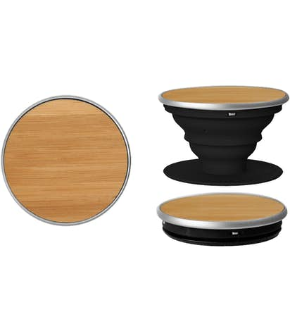 Full Color Wood PopSocket® - Bamboo