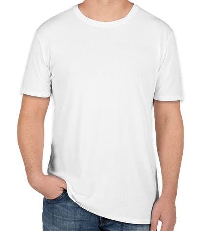 Threadfast Lightweight Pigment Dyed T-shirt - White