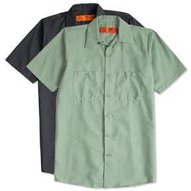 Red Kap® Industrial Work Shirt