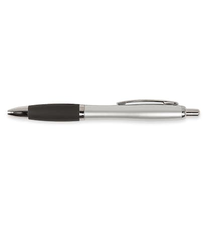 Nash Two Tone Pen (black ink) - Silver / Black