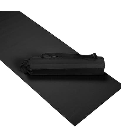 Yoga Mat with Case - Black