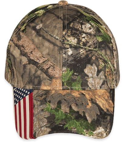 Outdoor Cap Realtree Xtra® Camo American Flag Hat - Mossy Oak Country
