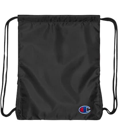 Champion Drawstring Bag - Heather Black