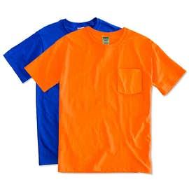 Canada - Jerzees 50/50 Pocket T-shirt