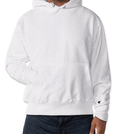 Champion Heavyweight Reverse Weave® Pullover Hoodie - Silver Grey