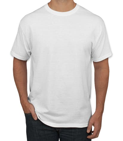 84a29ae3 Custom Hanes EcoSmart® 50/50 T-shirt - Design Short Sleeve T-shirts ...