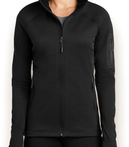 The North Face Women's Mountain Peaks Full Zip Fleece Jacket - TNF Black