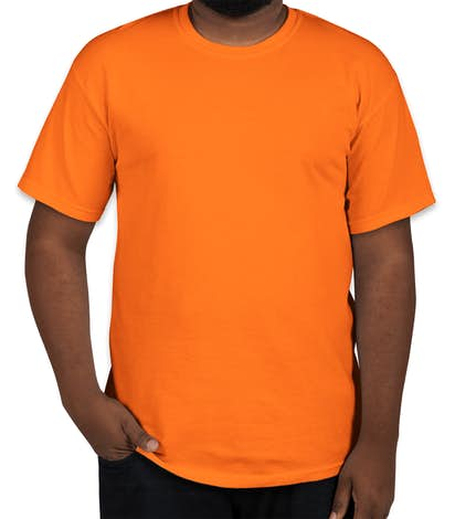 Gildan Ultra Cotton T-shirt - Safety Orange