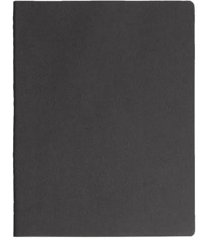 Moleskine XL Soft Cover Squared Notebook - Black