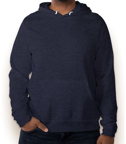 Bella + Canvas Ultra Soft Pullover Hoodie - Heather Navy