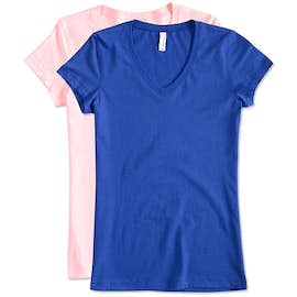 Bella + Canvas Juniors Jersey V-Neck T-shirt