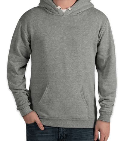 Royal Apparel USA-Made Eco Tri-Blend Pullover Hoodie - Eco Tri Grey