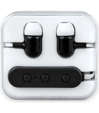 Color Pop Bluetooth Earbuds - White