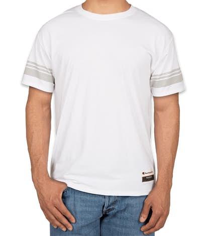 Champion Authentic Tri-Blend Varsity T-Shirt - White