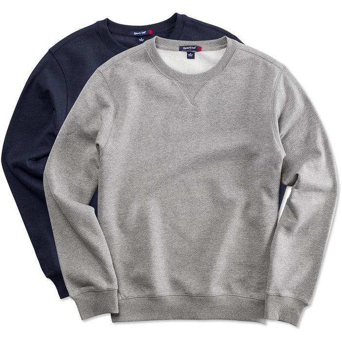 fb67de142e Custom Sport-Tek Premium Crewneck Sweatshirt - Design Crewneck ...