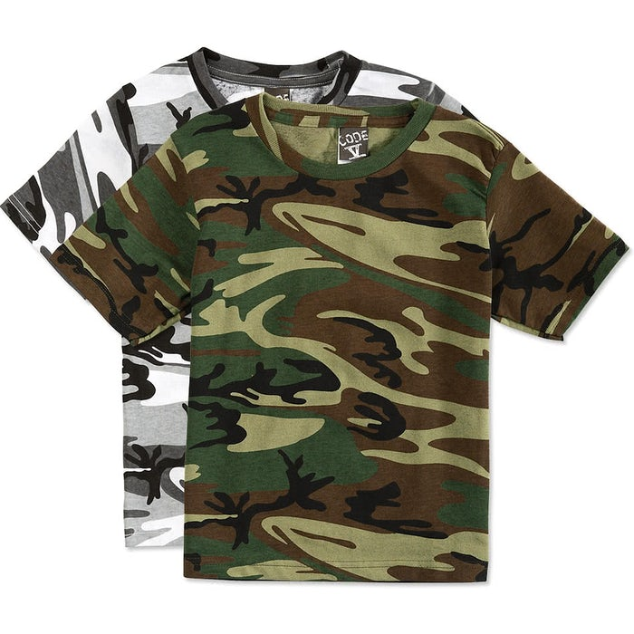 2019e526 Code 5 Youth Camo T-Shirt - Design Custom Kids Camouflage T-Shirts