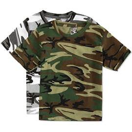 Canada - Code 5 Youth Camo T-shirt