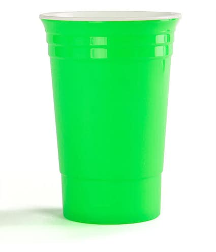 Reusable Plastic Party Cup Other View 1