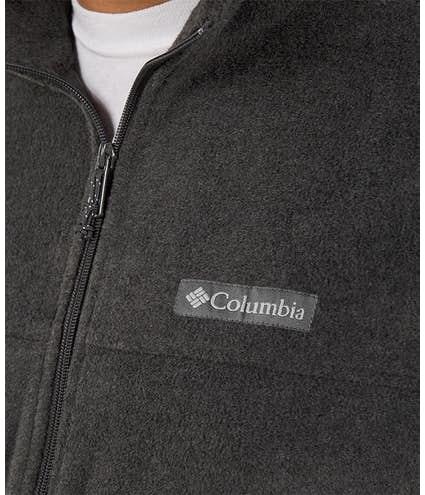 172a2e19b97 Custom Columbia Steens Mountain Full Zip Fleece Jacket - Design ...