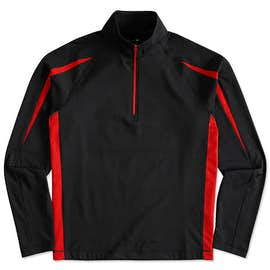 Sport-Tek Contrast Performance Half Zip Pullover