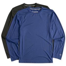 Champion Vapor Heather Long Sleeve Performance Shirt
