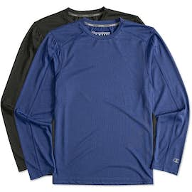 Champion Vapor Heather Long Sleeve Performance Shirt